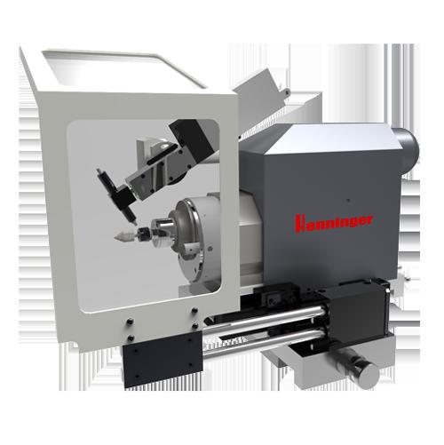 Henninger Zentrumschleifmaschinen um Rundlauf zu verbessern Zentrumschleifen Zentrierbohrung